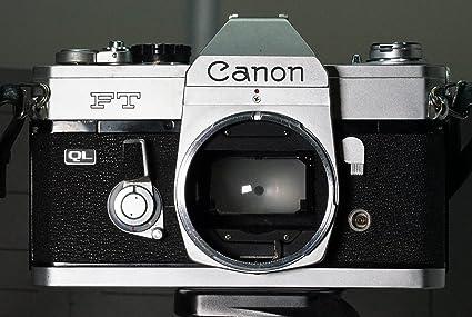 amazon com canon ftb ql slr manual focus film camera body only no rh amazon com canon ftb ql user manual canon ftb ql user manual