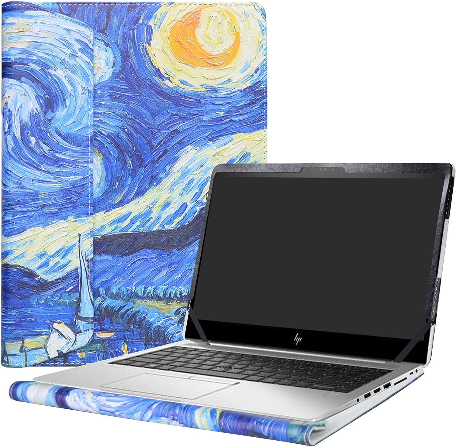 "Alapmk Protective Case Cover For 14"" HP EliteBook 840 G5 G6/EliteBook 745 G5 G6/ZBook 14u G5 G6 Laptop(Note:Not fit EliteBook 840 745 G4 G3 G2 G1/ZBook 14u G4/ZBook 14 G2/ZBook 14 G1),Starry Night"