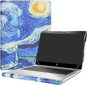"Alapmk Protective Case Cover For 14"" HP EliteBook 840 G5 G6/EliteBook 745 G5 G6/ZBook 14u G5 G6 Laptop(Note:Not fit EliteBook 840 745 G4 G3 G2 G1/ZBook 14u G4/ZBook 14 G2/ZBook 14 G1),Starry Night"