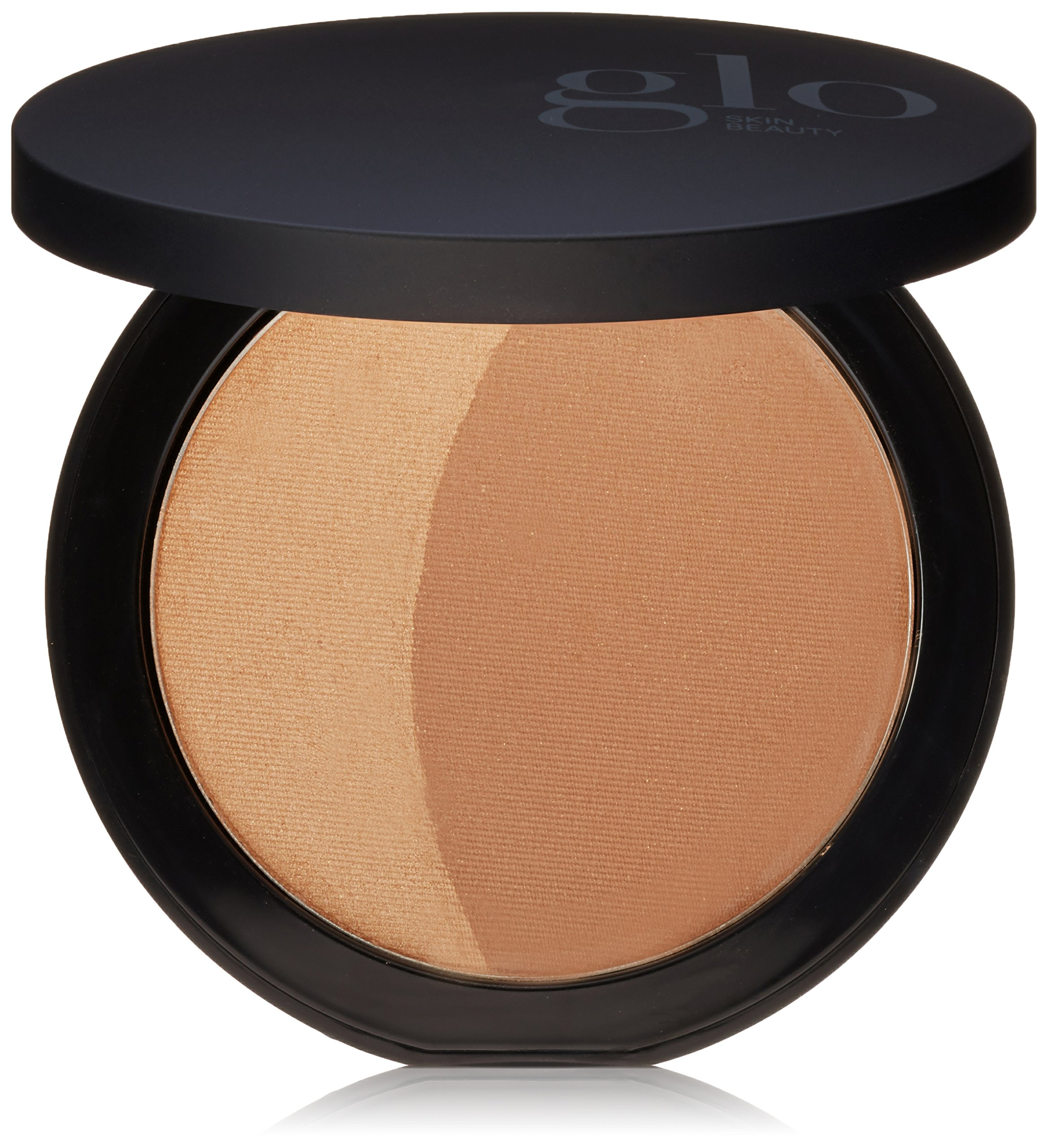 Glo Skin Beauty Bronze in Sunkiss | Bronzer Powder, 2 Shades | Noncomedogenic, Cruelty Free and Talc Free Mineral Makeup by Glo Skin Beauty