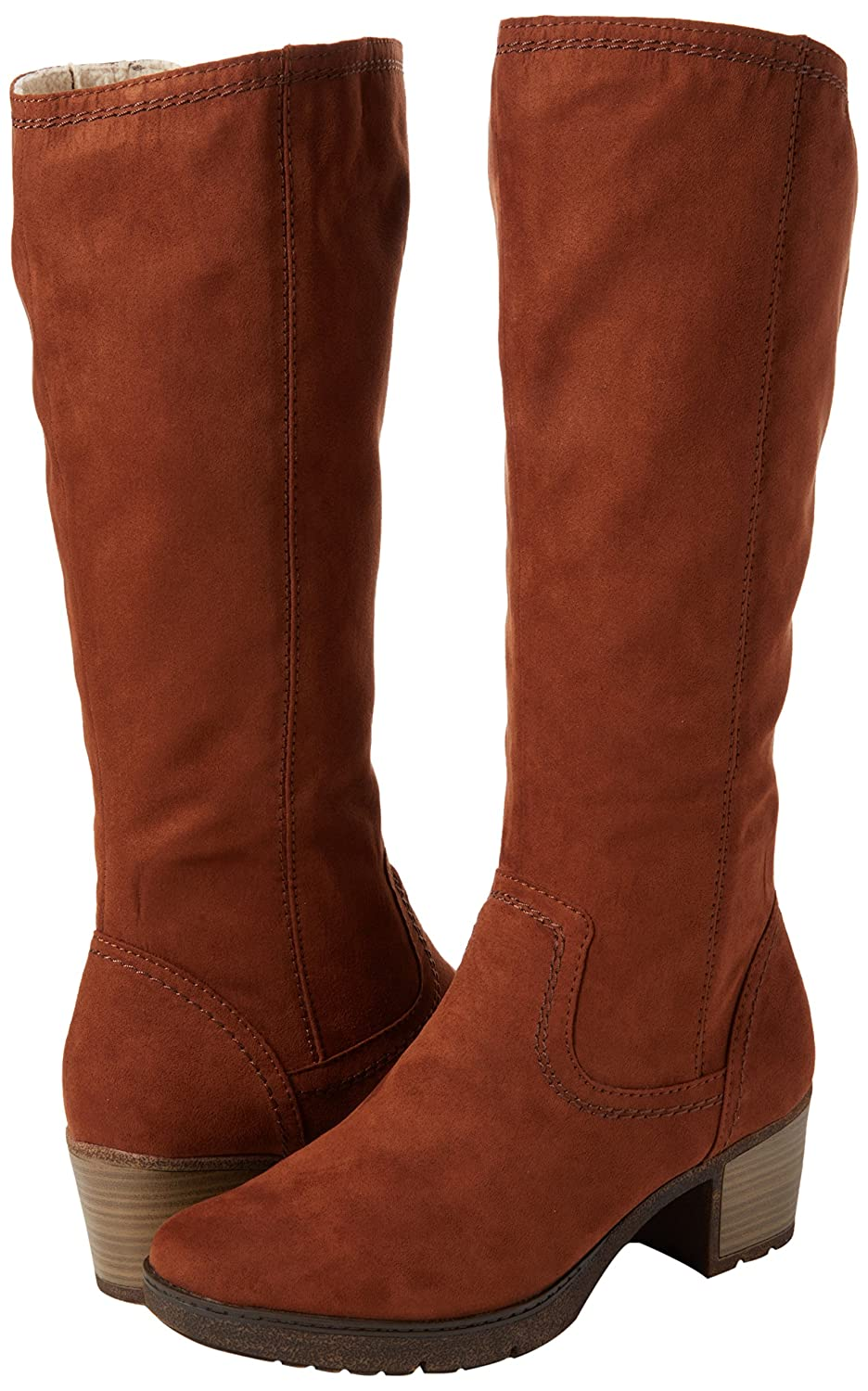 Softline Damen (Cafe) 25662 Stiefel Braun (Cafe) Damen cf7cfc