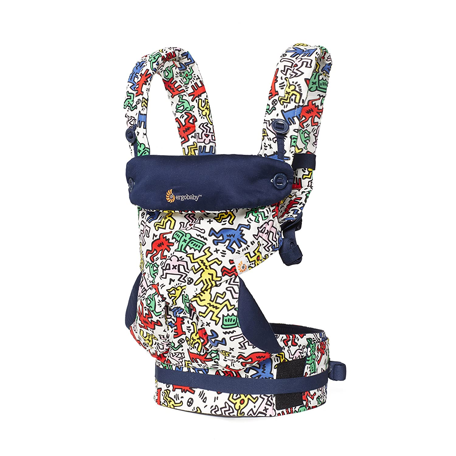 6e639b2e43d Ergobaby Babycarrier 360 Four Postition Keith Haring Pop  Amazon.co.uk  Baby