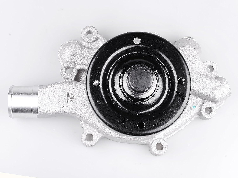 Mechapro AW7160 Professional Water Pump with Gasket for Jeep Grand Cherokee Dodge B150 B250 Dakota Ram1500 3.9L 5.2L 5.9L