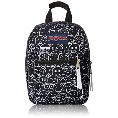 JanSport Big Break Lunch Bag - Emoji Crowd - Insulated: Kitchen & Dining