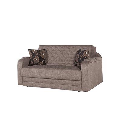 ISTIKBAL Multifunctional Love Seat Sleeper VERONA Collection