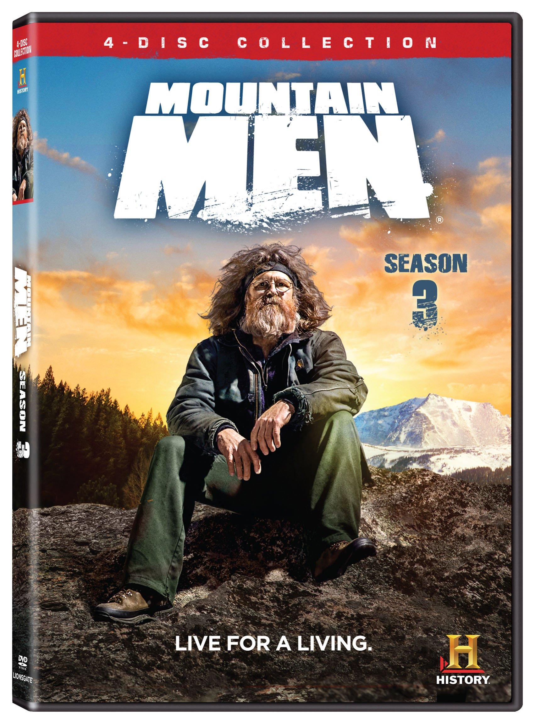 DVD : Mountain Men Season 3 (4PC)