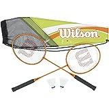 Wilson Adult's All Gear Badminton Kit (2-Piece)