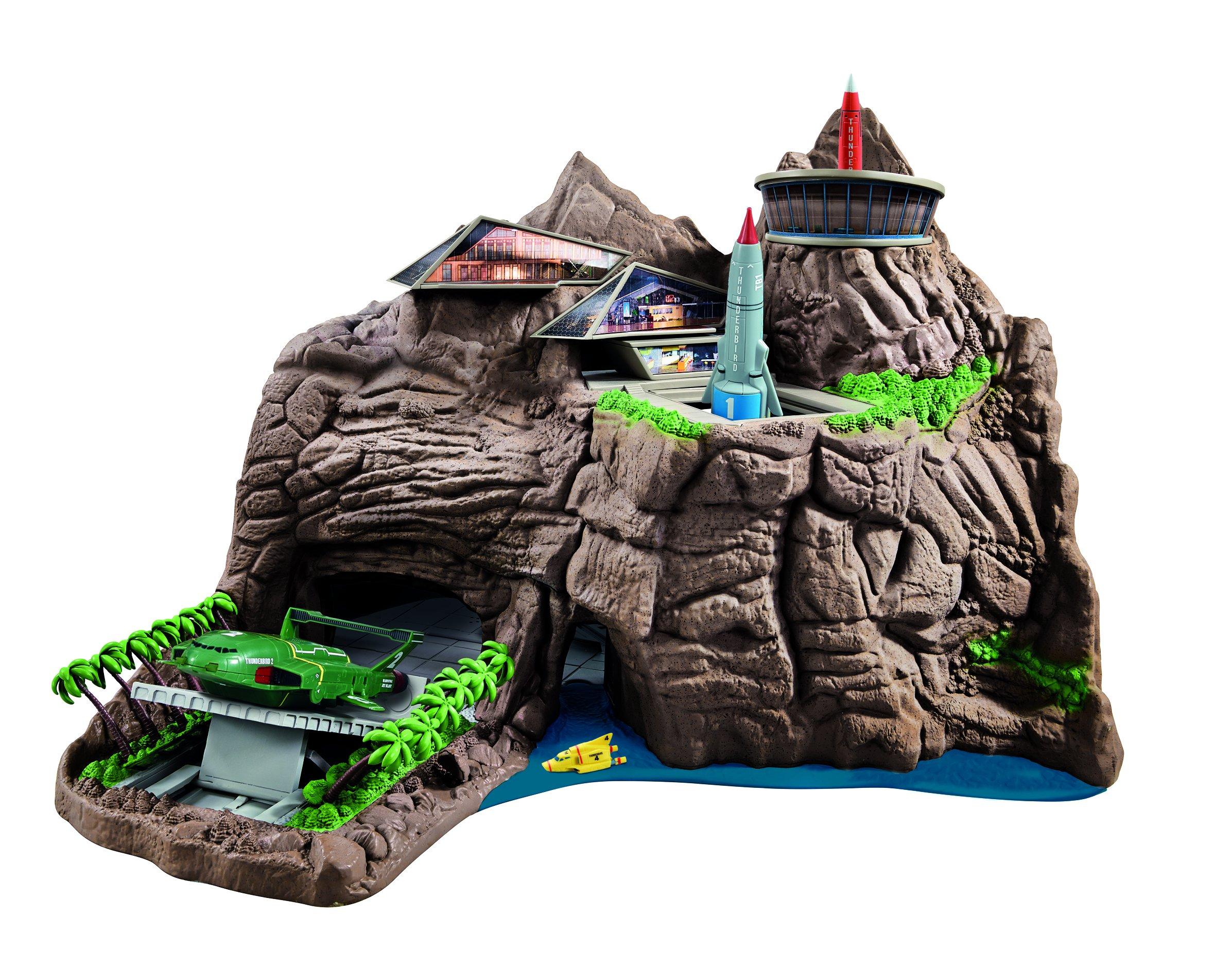 Thunderbirds Interactive Tracy Island Playset, Multicolored