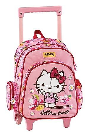 Graffiti Hello Kitty Mochila Escolar, 30 cm, Rosa (Pink): Amazon.es: Equipaje