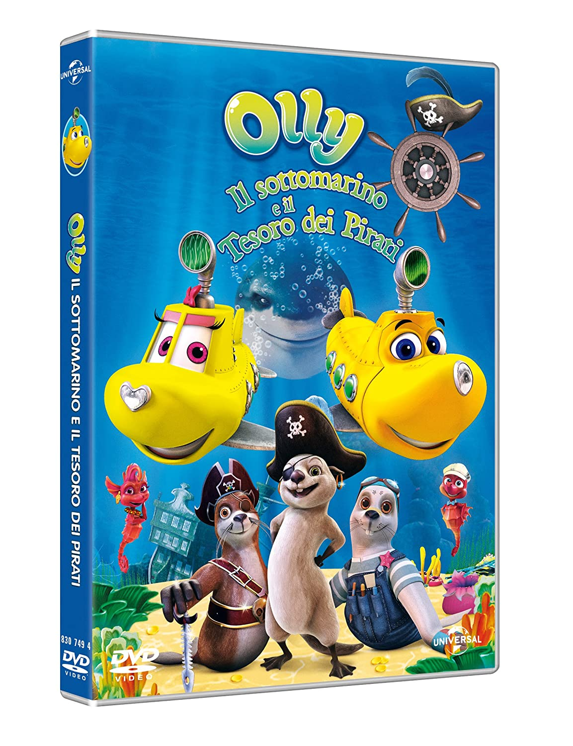 Olly Il Sottomarino DVD