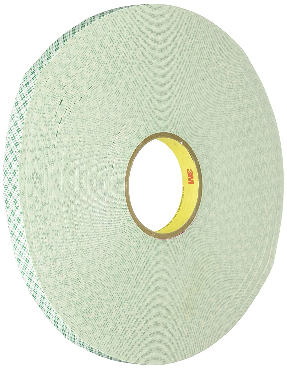 "3M 4032 Natural Polyurethane Double Coated Foam Tape, 1"" Width x 5yd Length (1 roll)"