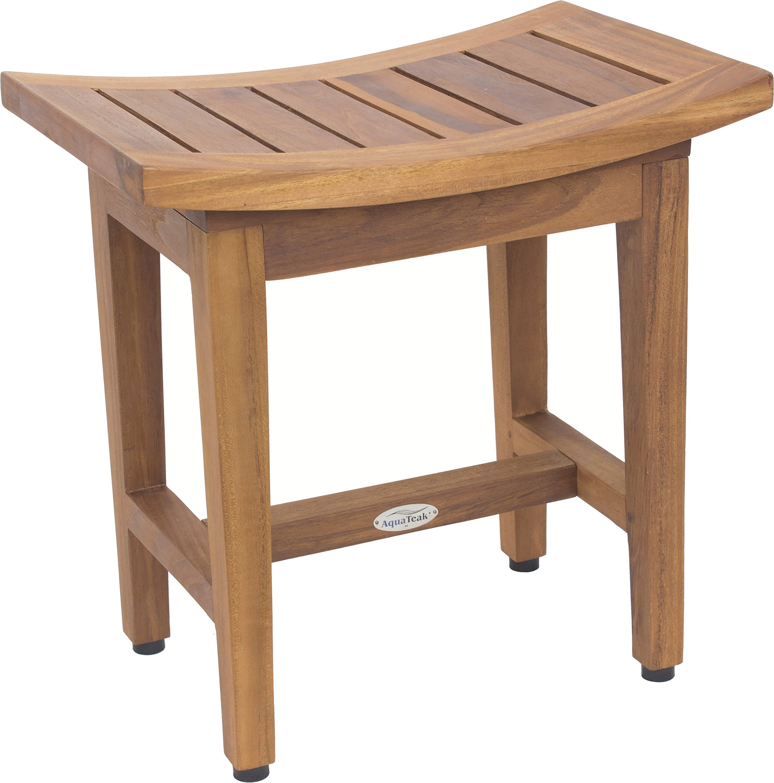 Maluku Lotus 18'' Teak Shower Bench