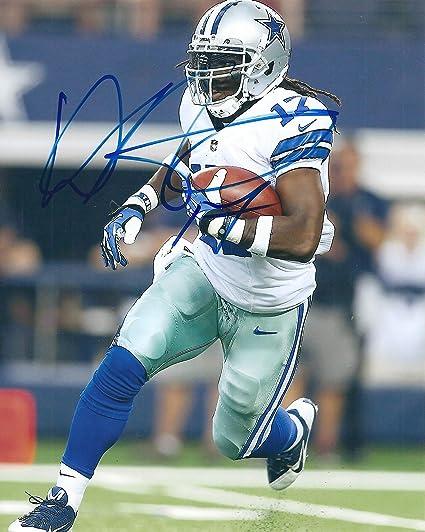 Autographed Dwayne Harris 8x10 Dallas Cowboys Photo