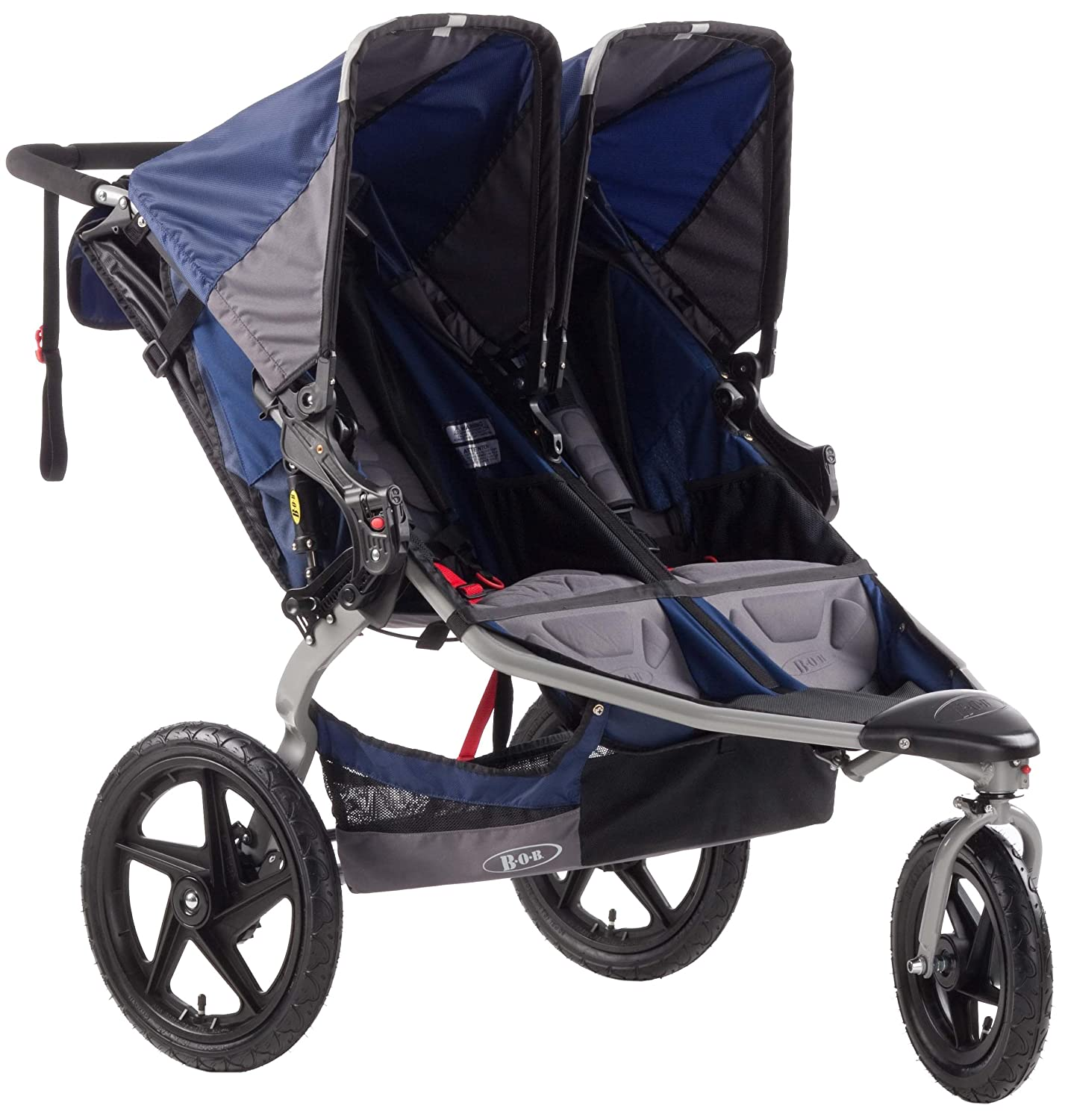Amazon BOB Revolution SE Duallie Stroller Navy Jogging Strollers Baby