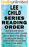 LEE CHILD: SERIES READING ORDER: MY READING CHECKLIST: JACK REACHER SERIES, JACK REACHER SHORT STORIES, HAROLD MIDDLETON SERIES, SHORT STORY COLLECTIONS BY LEE CHILD, LEE CHILD ANTHOLOGIES