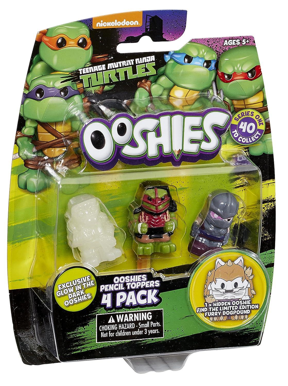 Ooshies Teenage Mutant Ninja Turtles 4-Pack Wave 1 Mix 4 Pencil Topper Figures