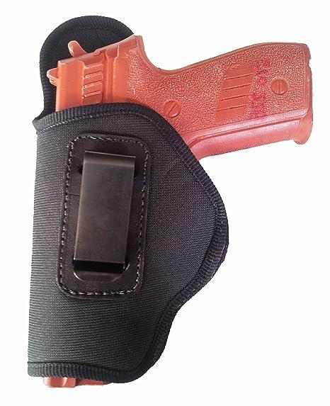 Tagua BSHM-306 Glock 42 (380) Belt Slide Holster with Magazine Carrier,  Black, Left Hand