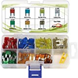 120 Pieces - EPAuto Assorted Car Truck Mini Blade Fuse Set (5 / 7.5 / 10 / 15 / 20 / 25 / 30 AMP)