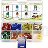 120 Pieces - EPAuto Assorted Car Truck Mini Blade Fuse Set (5/7.5/10 / 15/20 / 25/30 AMP)