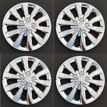 Nuevo fundas para ruedas tapacubos reemplazos para 2013 – 2018 Nissan Sentra; 16 inch;