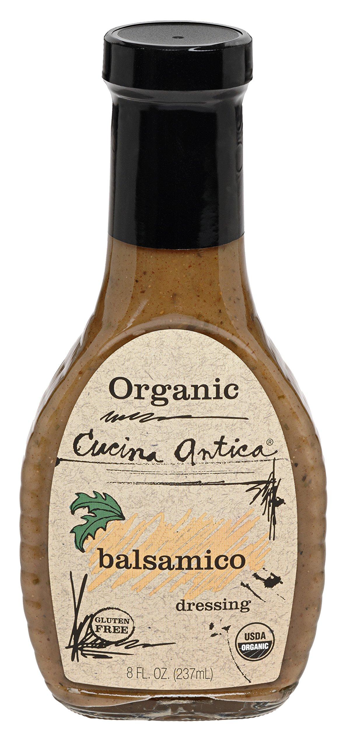 Cucina Antica Organic Balsamico Dressing, 8 oz