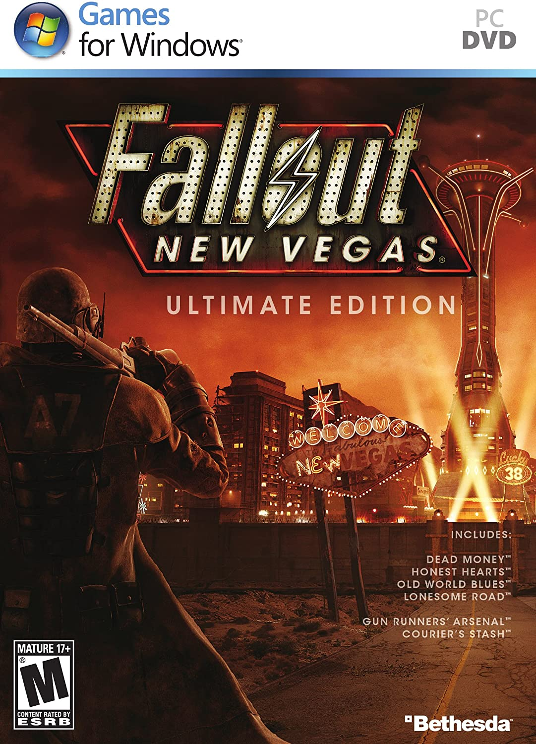 Amazoncom Fallout New Vegas Ultimate Edition Xbox 360