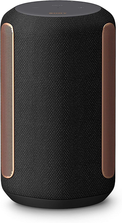 Sony SRS-RA3000 360 Reality Audio Premium Wireless Speaker with Wi-Fi, Bluetooth, Wireless Streaming, Chromecast Built-in, Works with Google Assistant, Black