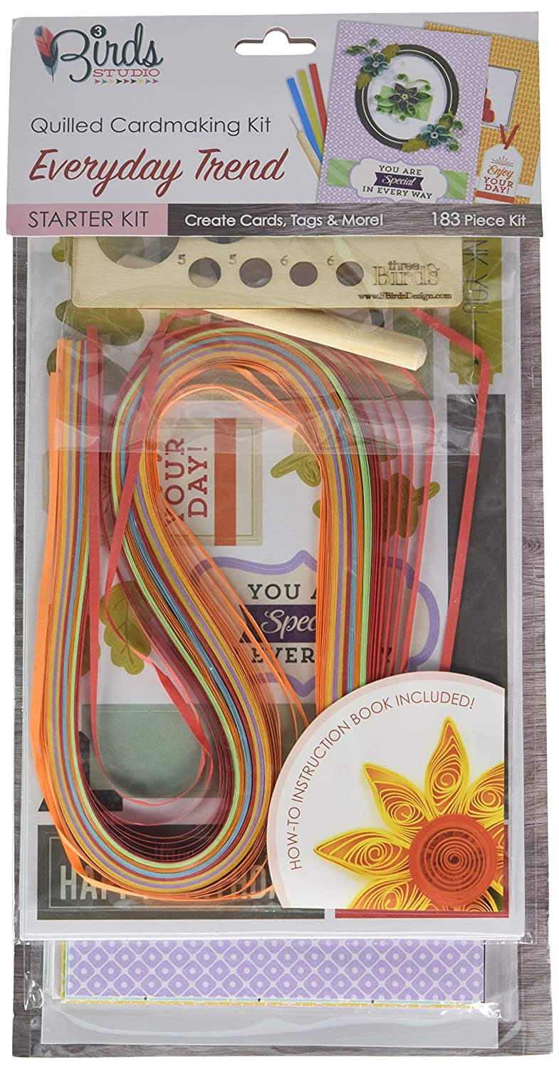 PULSAR ECO PRODUCTS QT33014 Quilling Starter Kit All Occation Darice