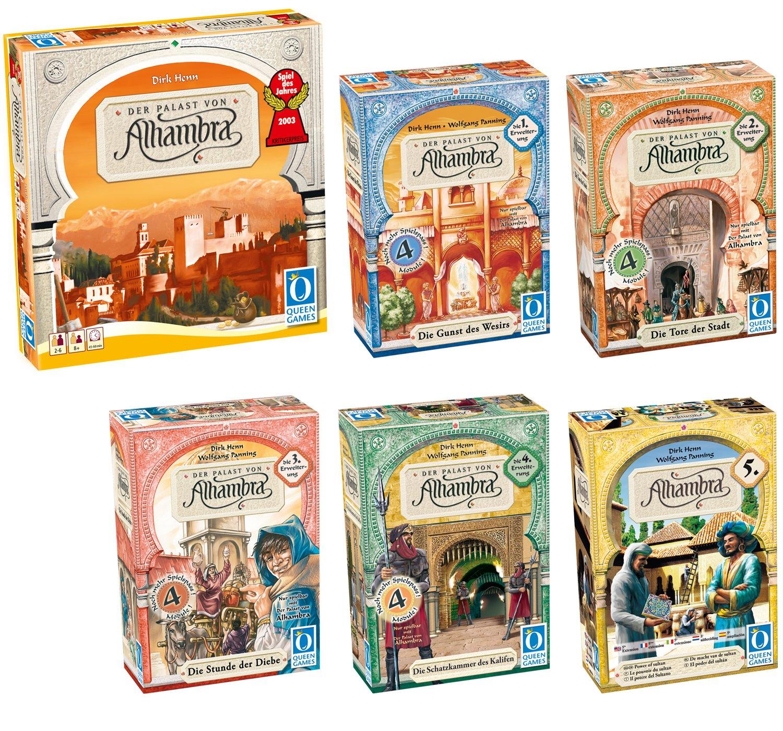 Queen Games - Juego de cartas (60375) (importado): Amazon.es ...
