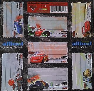 Disney Cars Etichette di nomi ETICHETTE Disney Cars