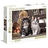 Clementoni - 393404 - Puzzle - Chatons mignons - 1000 Pièces
