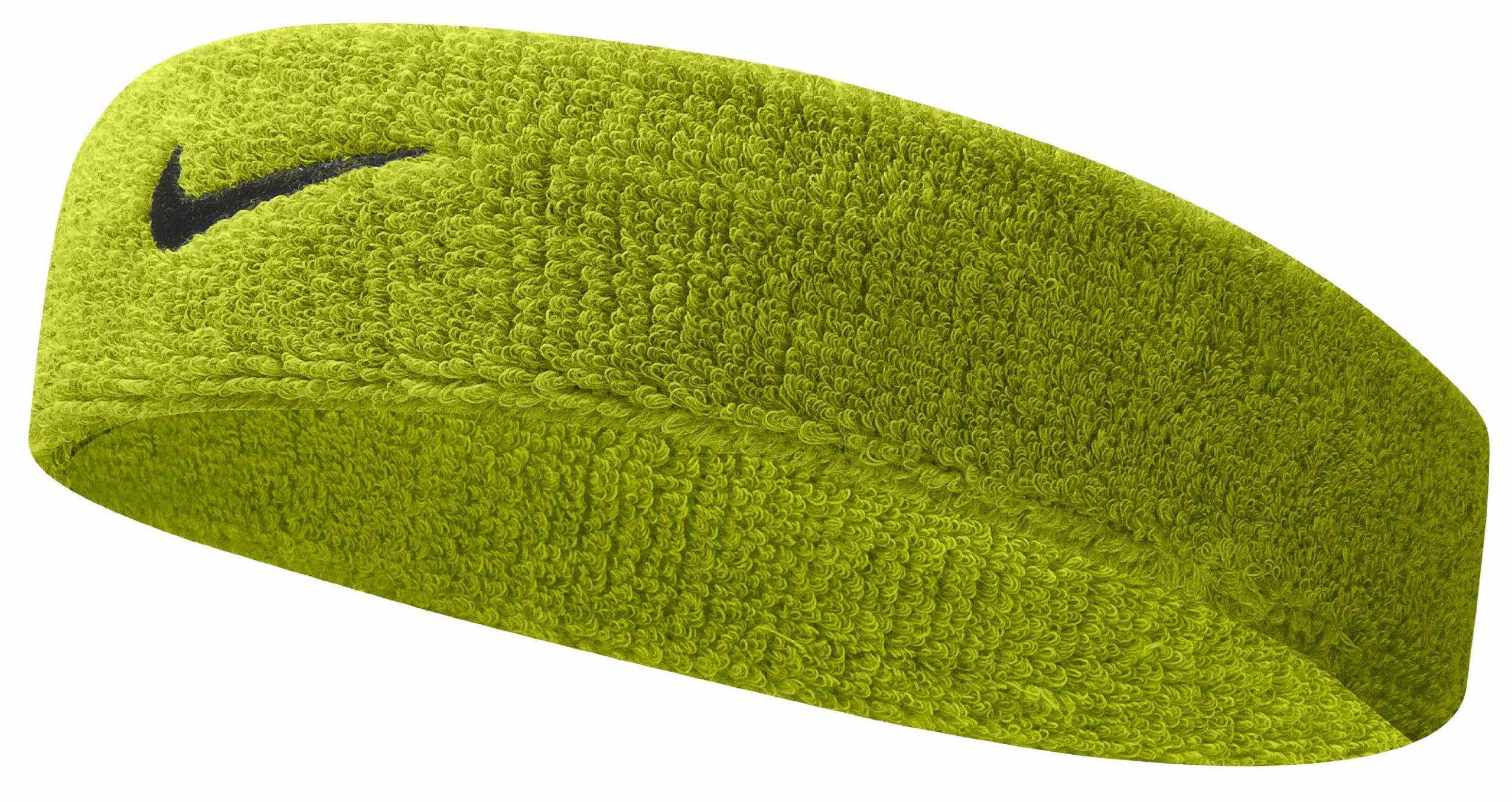 Nike Swoosh Headband (Atomic Green/Black, Osfm) by Nike (Image #2)