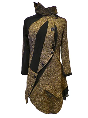 meilleure vente pas cher pour réduction dernier style Manteau femme M original asymétrique néo victorien a faux ...