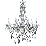 The Original Gypsy Color 6 Light Large Crystal