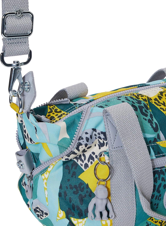 Kipling - Art Mini, Borse a secchiello Donna Multicolore (Urban Jungle)