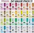 DERMAL Collagen Essence Full Face Facial Mask Sheet (Pack of 24)