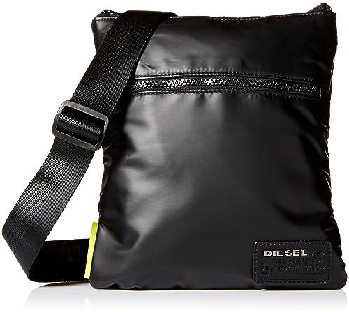 Diesel X04813, Bolso bandolera para Hombre, Negro (Black ...