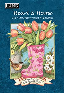 Lang 2017 Heart & Home Monthly Pocket Planner, 4.5 x 6.5 inches (17991003161)