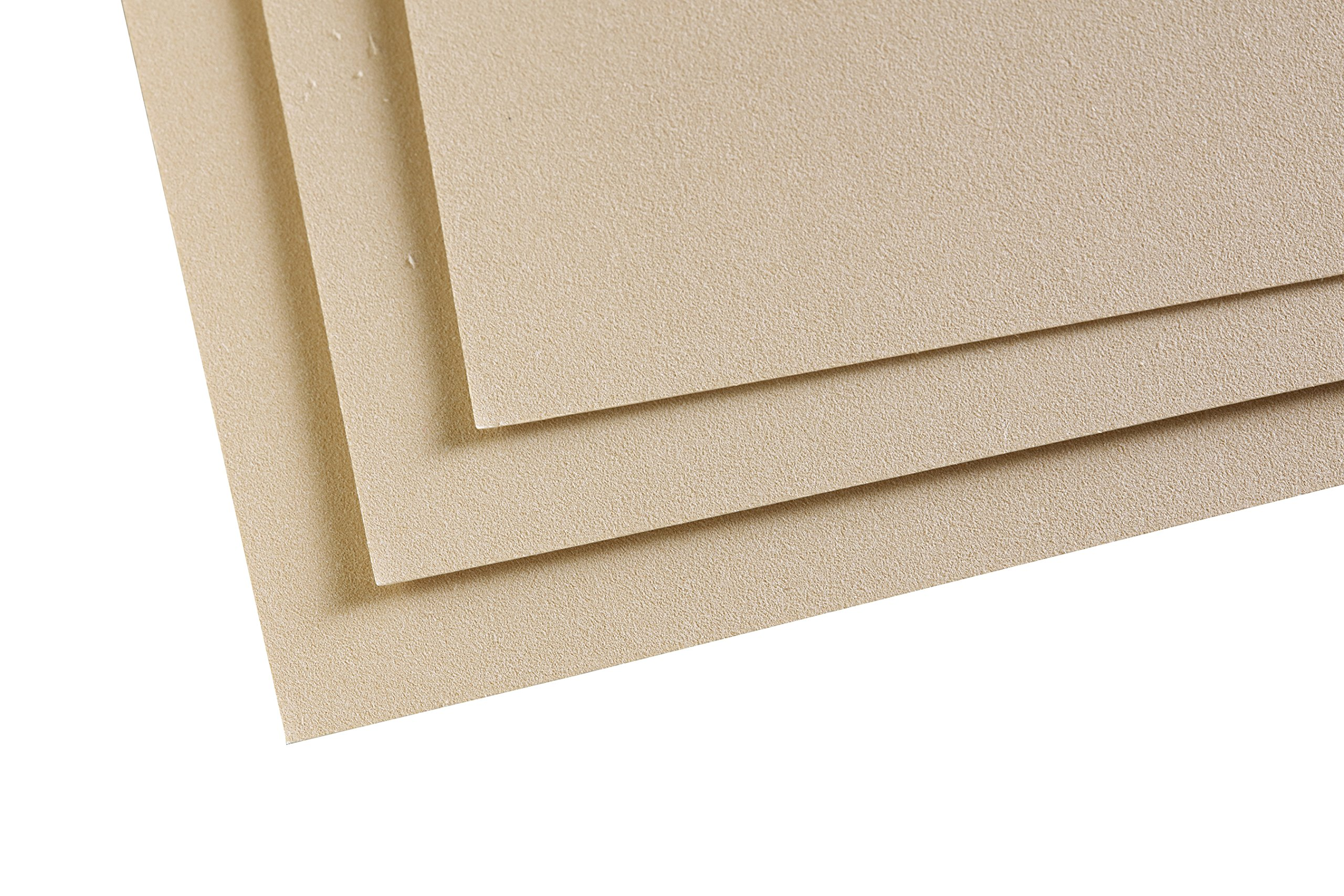 Clairefontaine PastelMat Paper Pack 5sh 24x32-Sand, 24 x 32 cm, Sand