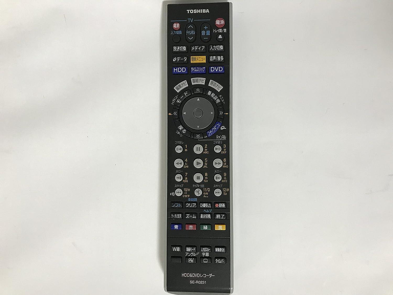 東芝 HDDDVDリモコン SE-R0231   B00KGX76T4