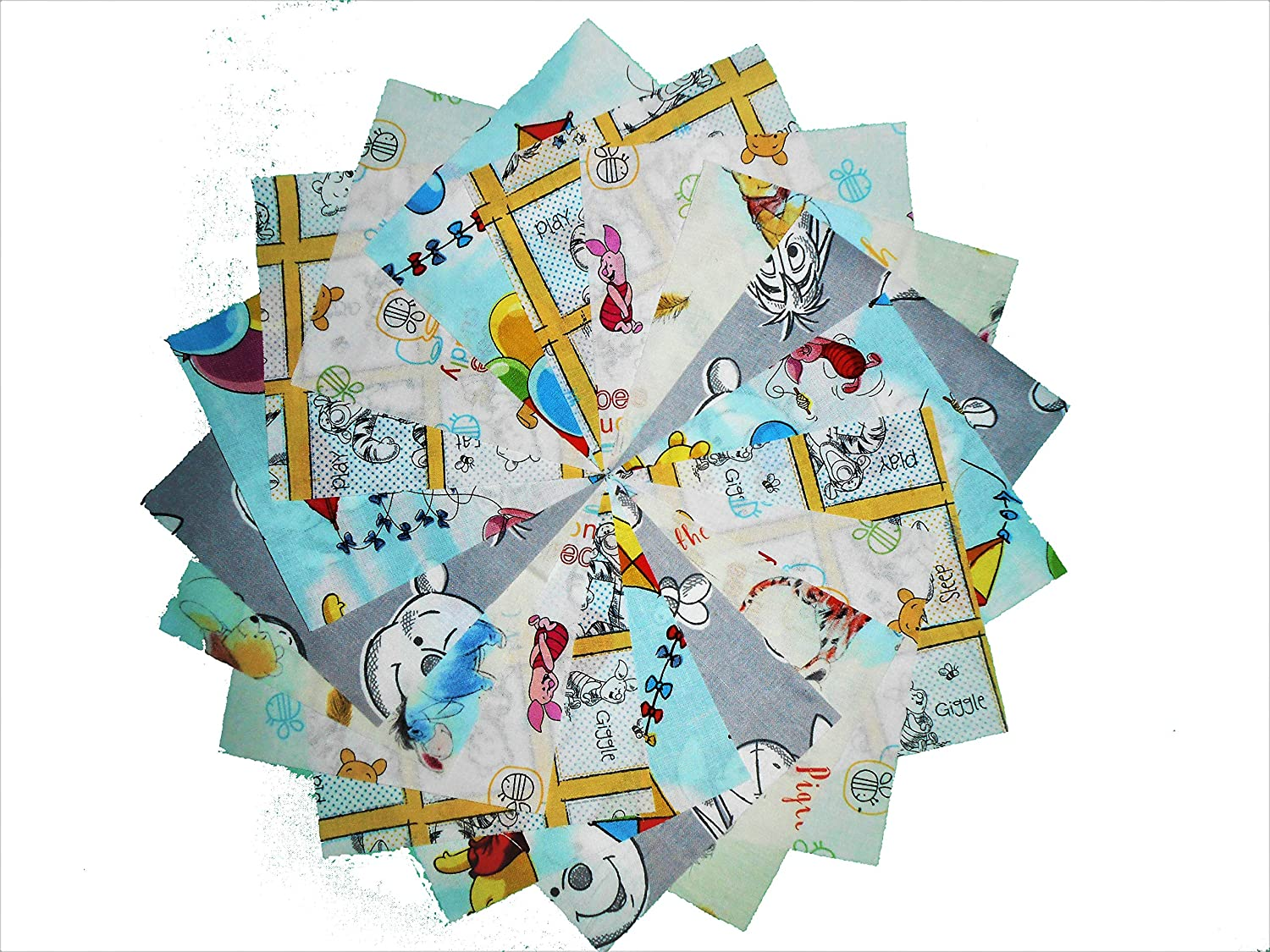 40 5 Winnie the Pooh Charm Pack 5 DIFFERENT PRINTS 8 OF EACH