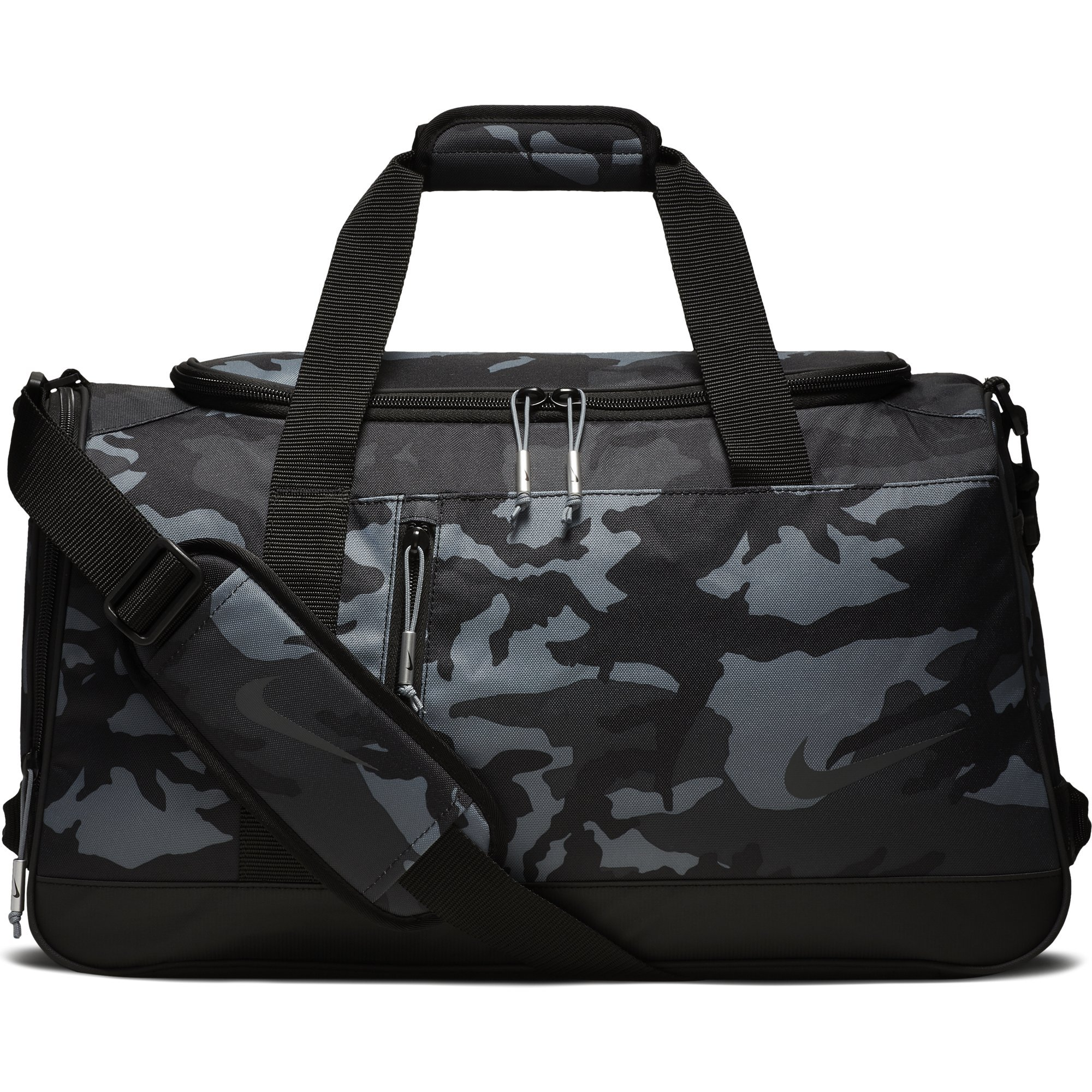 NIKE Sport All Over Print Golf Duffel Bag, Anthracite/Black/Anthracite by Nike