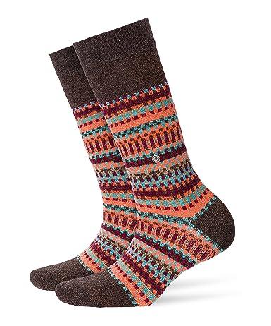 Burlington Fair Isle Damen Socken One size fits all (Gr. 36-41)
