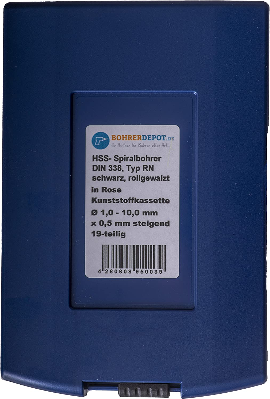 Elektrowerkzeuge & Handwerkzeuge Bohrerdepot HSS-TIN Spiralbohrer DIN 338 Ø 6,5 mm/5 Stück