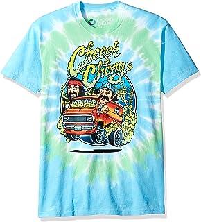 fae9f8b9a Liquid Blue Cheech and Chong Smokin  Ride Tie Dye Short Sleeve T-Shirt