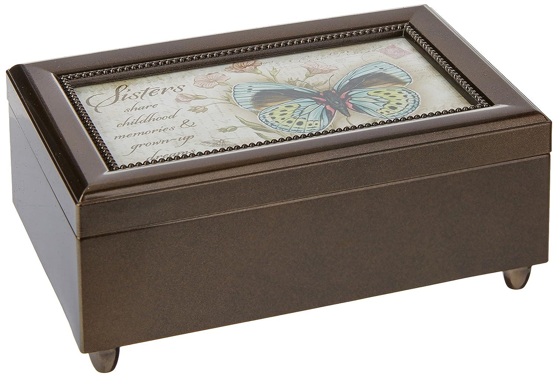 Carson Home Accents 18282 Sister Jane zittrigen Musik Box, 6 von 4-Zoll von 2–1 2 Zoll