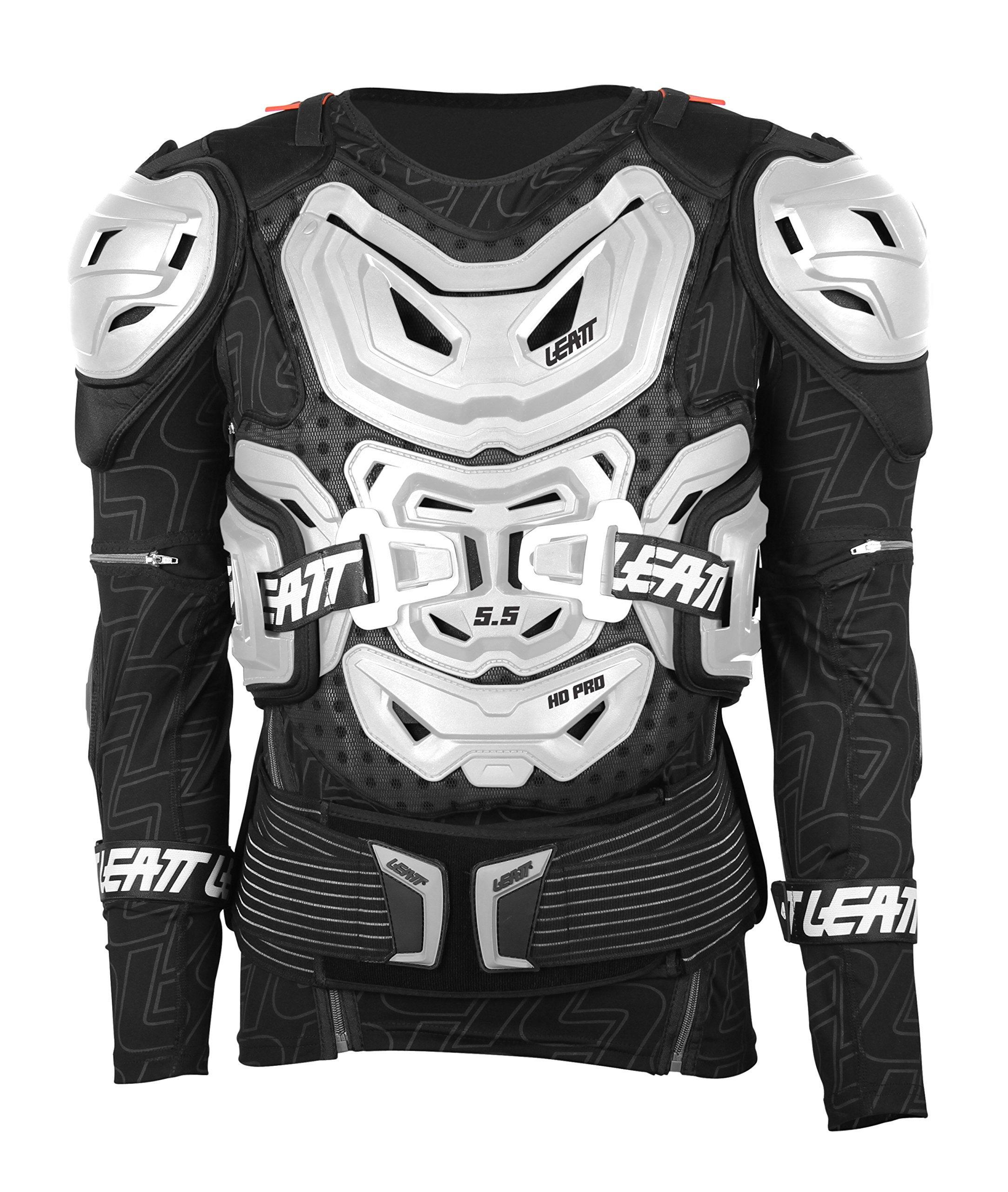 Leatt 5.5 Body Protector (White, Large/X-Large)
