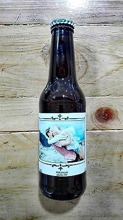 Cerveza personalizada regalo para boda pareja vintage (Pack de 12 ...