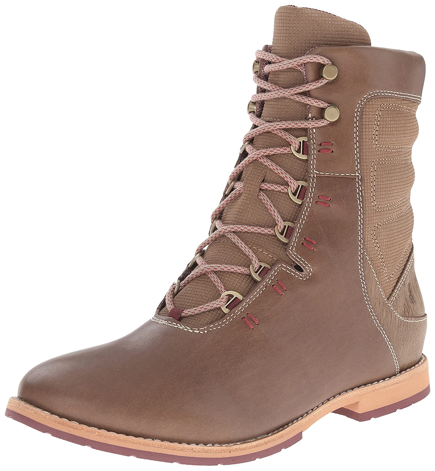 Ahnu Women's Chenery Lace up Boot B00RMKXRJM 10 B(M) US|Timber Wolf