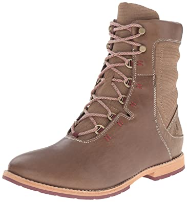 Amazon.com | Ahnu Women's Chenery Lace Up Boot | Ankle & Bootie